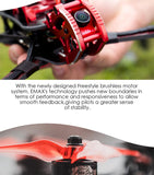 Emax Buzz 245mm F4 1700KV 5inch 1700KV 5-6S / 2400KV 4S FPV Racing Drone Camera PNP/ BNF w XM+ Receiver for Freestyle Quadcopter