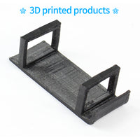 QWinOut Battery Holder Protection Seat Black TPU 3D Printing For Happymodel Mobula7 Mobula 7 V3 Frame FPV Racing Drone