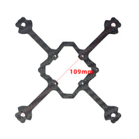 LDARC AK103 109mm 3S 2.5 Inch Toothpick FPV Racing Drone Frame Kit Carbon Fiber Motor 65mm Propeller for RC Drone FPV BetaFPV Cine Whoop