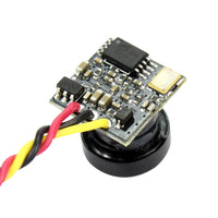QWinOut FPV Split Camera 1/4 5inch CMOS Image Sensor 700TVL NTSC 25MW 48CH for FPV Racing Drone Quadcopter Aircraft
