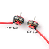 Happymodel EX1103 1103 6000KV 7000KV 8000KV 12000KV 2-4S Brushless Motor for Sailfly-X Larva X Toothpick RC Racing Drone FPV Models