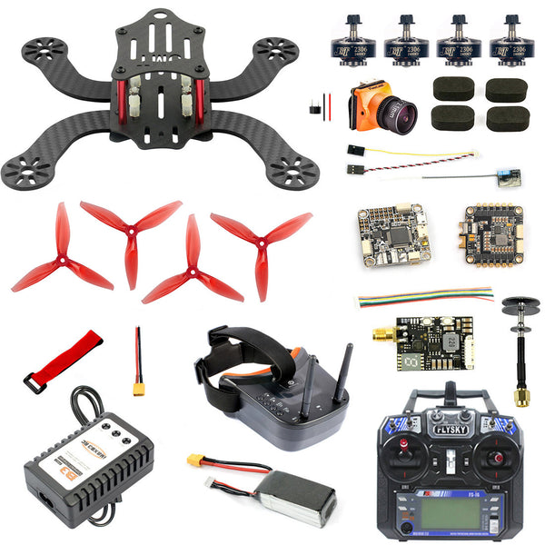 JMT J194 194mm Mini F4 Pro OSD RC FPV Racing Drone Quadcopter with 4 in 1 30A ESC RunCam 600TVL / 700TVL BNF RTF