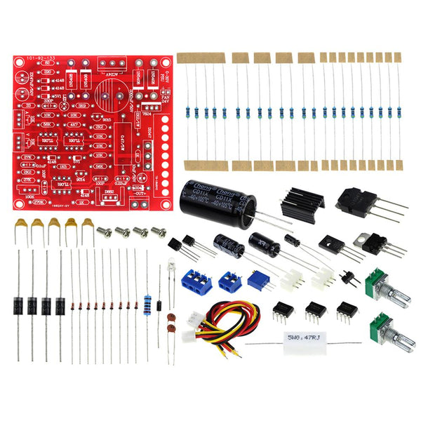Feichao DC Regulated Power Supply DIY Kit Continuously Adjustable Short Circuit Current Limiting Protection DIY Kit 0-30V 2mA-3A