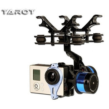 Tarot T-2D 2-axle Brushless Gimbal Camera PTZ Mount FPV Rack TL68A08 for GoPro Hero3 DIY FPV RC Multicopter Drone