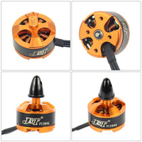 JMT Mini Multi-rotor 1806 2400KV CW CCW Brushless Motor for DIY 2-3S RC Racing Quadcopter 250 CC3D 260 330 Drone