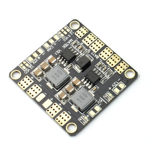 QWinOut Mini Power Hub Power Distribution Board PDB with BEC 5V & 12V for FPV QAV250 ZMR250 Multicopter Quadcopter