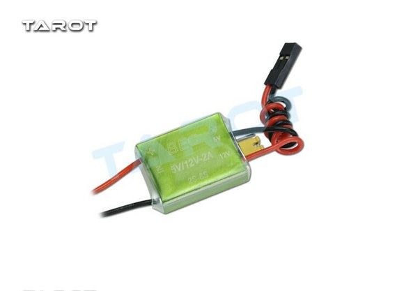 Tarot 2-6S turn 5V / 12V RC BEC TL2075 for image transmission for multicopter drone with camera