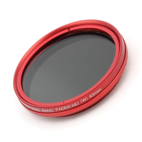 FOTGA Slim Fader ND Filter Adjustable Variable Neutral Density ND2 to ND400 Polarizer Filter Filtro de Polarizer F21817 Red