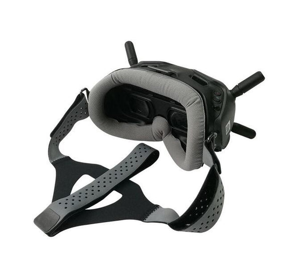 QWinOut Faceplate Eye Pad / Head Strap Head Band Compatible for DJI Digital FPV Goggles Face Plate, Replacement for Lycra Skin-friendly Fabric