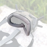 Faceplate Eye Pad / Head Strap Head Band for DJI Digital FPV Goggles Face Plate Replacement Set for Lycra Skin-friendly Fabric