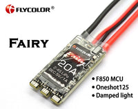 Flycolor Fairy 20A Brushless ESC Speed Controller for QAV210 215 210 FPV RC Quadcopter Drone Spare Parts