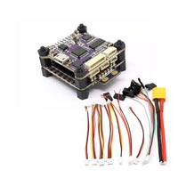 Flycolor Raptor S-Tower ESC5V/12V 30A 4-in-1 ESC 2-4S Support Dshot600 F3 Drone with OSD for RC Racing Toy Airplanes