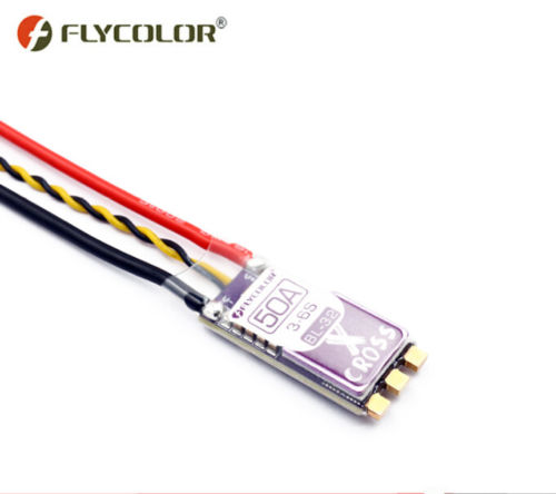 Flycolor X-Cross Blheli_32 50A 3-6S ARM 32bit DSHOT1200 Brushless ESC for RC Racer FPV Racing Multicopter Quadcopter Parts