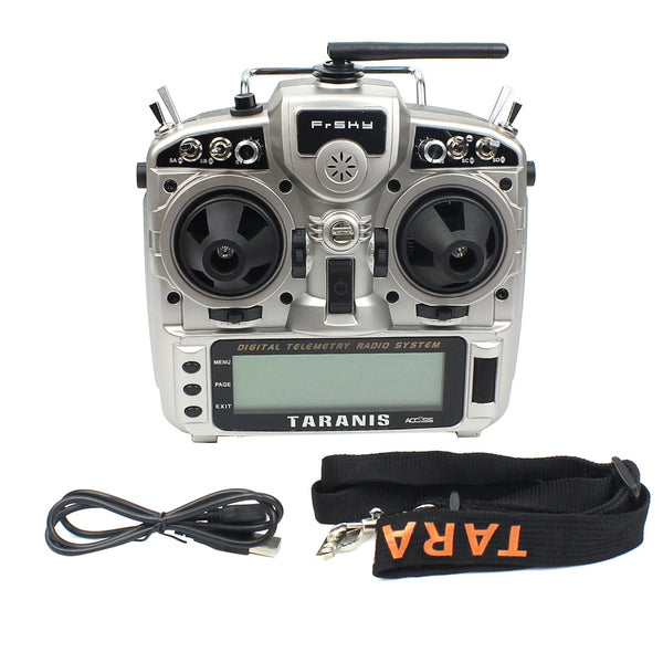 FrSky Taranis X9D Plus 2019 2.4G 24CH ACCST D16 ACCESS Transmitter Support Analyzer for RC Drone