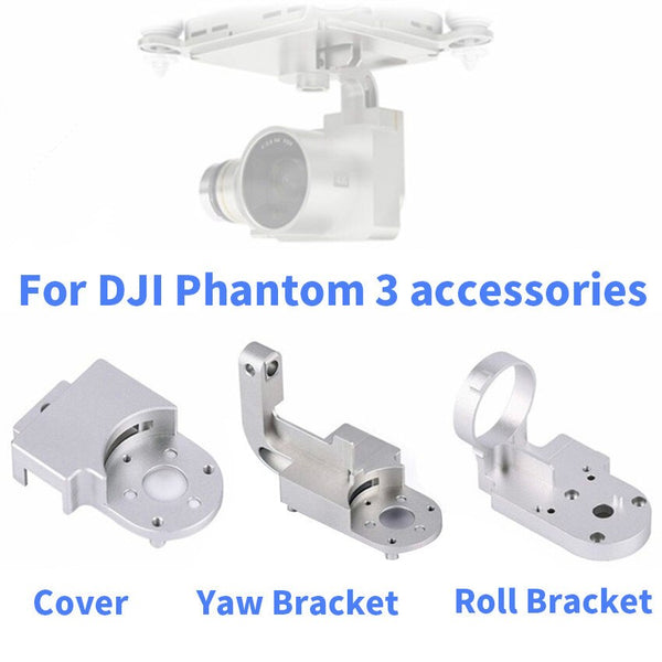 Gimbal Yaw Arm Replacement YAW Bracket ROLL Bracket Gimbal Repairing Parts for Phantom 3 Advanced / Standard