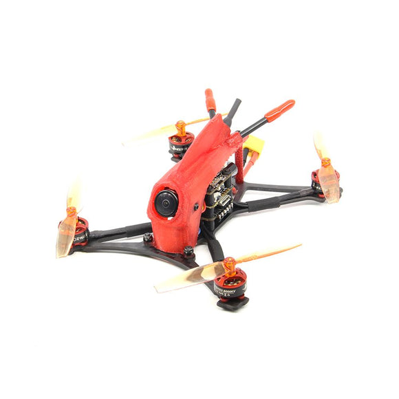 HGLRC ToothPick Parrot120 2-3S Micro FPV Racing Drone BNF 120mm Wheelbase F411 Flight Control 13A 4in1 ESC 1103 8000KV Motor Racing Drone