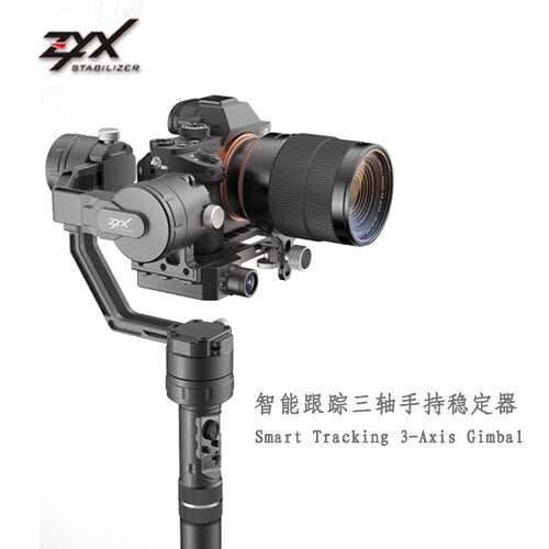 Tarot Flamingo Pro Intelligent Tracking 3-Axis Gimbal Handheld PTZ Stablizer for Micro-SLR Camera with ZYX Phone APP Control