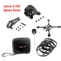 Happymodel Larva X HD FPV Drone Accessories Carbon Fiber Frame Kit Storage Handbag Propeller Guard Camera Canopy 5.8G Antenna