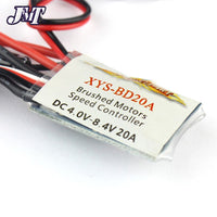 JMT 20A Brushed ESC Car Motor Speed Controller Bothway With brake function For 1/16 1/18 Car Boat