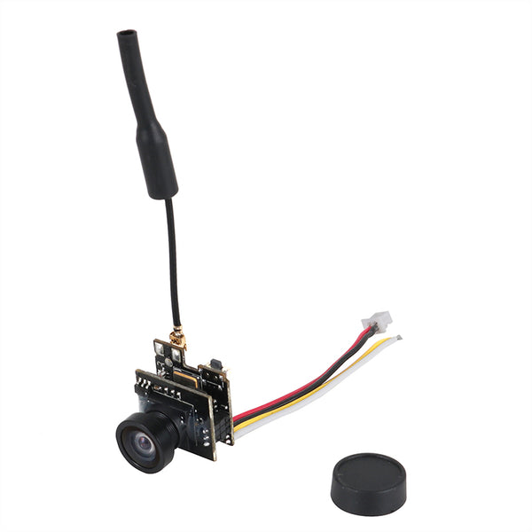 JMT 5.8G 800TVL FPV AIO Micro Camera 25MW 40CH Transmitter LST-S2+ FPV Camera with OSD