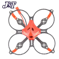 Clearance JMT Eaglet85 85MM DIY FPV Camera Micro Brushless Motor Carbon Fiber Racing Quadcopter Drone Frsky/Flysky/DSM/X WFLY RX Receiver