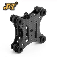 JMT FPV Carbon Fiber Anti Vibration Plate & Rubber Balls for Phantom 1 2 Gimbal Mount Quadcopter For Gopro Hero 2 3 PTZ
