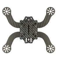 Clearance JMT J194 High Durability 3K Full Carbon Fiber 194mm with 3mm Arm Frame Kit Drone for DIY Freestyle Mini FPV Racing Aircraft