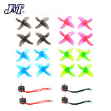 JMT Mobula 7 Spare Parts Replacement SE0802 1-2S CW CCW Motors 40mm Colorful Propellers For Mobula7 RC Racing Drone