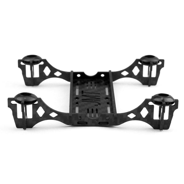 JMT New Mini 100mm Carbon Fiber Frame kit with Motor Mount Protector for DIY Indoor FPV Quadcopter Aircraft Unassembled F19602