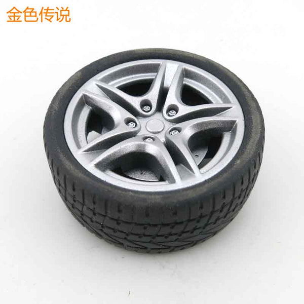 Feichao Outside diameter 40mm / 48mm Simulation Wheel 1:10 Tire Wheel Rubber Wheel Toy Model Accessory DIY RC Spare Parts F19176/7