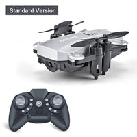 Feichao Mini Drone Quadcopter M9 Camera HD 1080P Wifi FPV Drone Foldable Altitude Hold RC Helicopter Smart Selfie Drones Kids Toy Gift