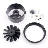 QX-MOTOR 64mm Accessories 12  Ducted Fan EDF with Ducted Barrel For RC Drone Brushless Motor