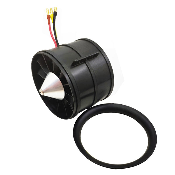 QX-MOTOR DIY EDF Ducted Airplane Fan 90mm QF3530 w/ Brushless Motor 6S 1450KV 1550 KV / 8S1200KV / 12S 1000KV for RC Helicopter