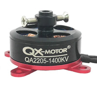 QX-MOTOR QA2205 1400KV 1800KV External Rotor Brushless Motor 2-3S Lipo RC Motor for F3P RC Fixed Wing 3D Airplane Accessories