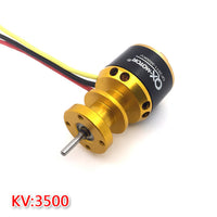QX-MOTOR QF2611 Brushless Motor 3500KV /4500KV 55mm/64mm Ducted Fan Jet EDF 3-4S Lipo For RC Airplanes