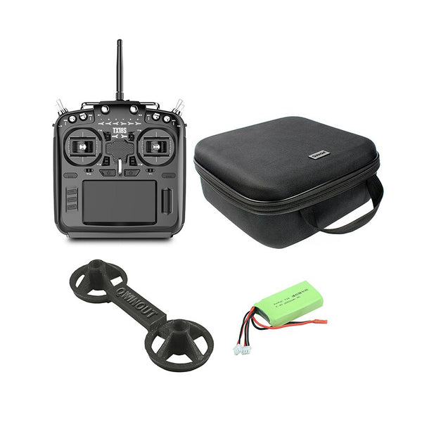 Radioking TX18S Hall Sensor Gimbals Remote Control Multi-protocol RF System Compatible with OpenTX Radio Transmitter with Bag