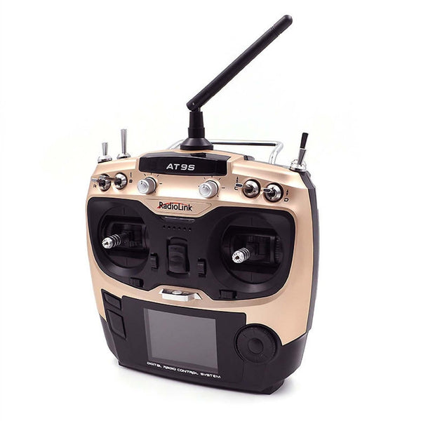 Radiolink AT9S R9DS Radio Remote Control System DSSS & FHSS 2.4G 9CH Transmitter & Receiver for Quadcopter Helicopters
