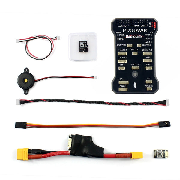 Radiolink PIX Flight Controller & Power Module Buzzer 4G TF for AT9/AT10 Remote Controller OSD DIY RC Multicopter Drone