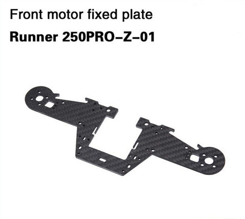 Runner Front Motor Fixed Plate 250PRO-Z-01 for Walkera Runner 250 PRO GPS Racer Drone RC Quadcopter
