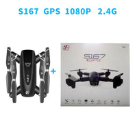 S167 GPS Drone Foldable Camera 4K HD Selfie 5G RC Quadcopter WIFI FPV Off-Point Flying Gesture Photos Video Helicopter Mini Dron