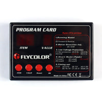 FLYCOLOR Speed Controller ESC Program Card Boat ESC Programming Card for Flymonster ESC RC Model Ship Aircraft Boat Accessory F21265