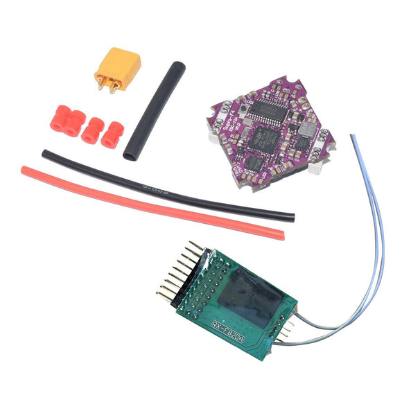 Supra F4 Flight Controller OSD BEC & 12A BL_S 2-4S 4In1 ESC  with XM++/ FRSKY/NR502T-F2 Receiver for TRASHCAN drone For T16 TX
