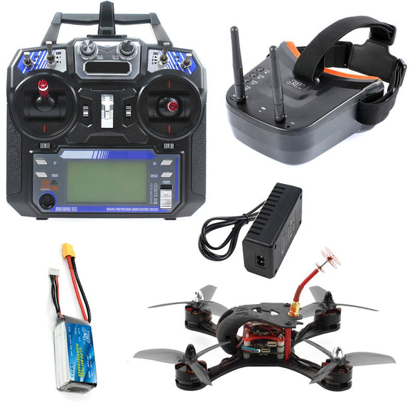 T180 4 Inch 5.8G FPV Racing Drone HD Camera Baby Turtle 800TVL Betaflight F4 Pro V2 OSD Brushless 3S 2.4G 6CH RC Quadcopter RTF