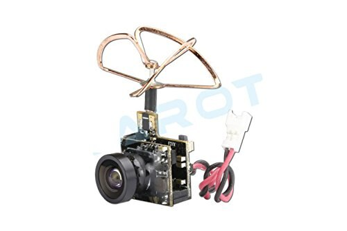 Tarot TL300M5 5.8G 25mW 48CH Integrated Mini Tiny AV Transmitter TX with 600TVL M7 Camera for DIY Racing Drone FPV