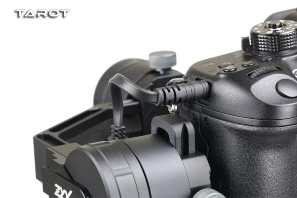 Tarot ZYX SLR camera control line ZYX34 Supported Shutter/ Picture Recording For Panasonic For Zhiyun Crane M Gimbal Spare Parts