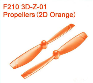 Walkera Propeller CW CCW props for Walkera  F210 3D Edition Racing Drone 3D-Z-01 2D Flight  Drone Accessories