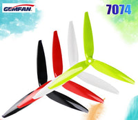 Gemfan 7040 7inch 3 blade/ tri-blade Propeller Props compatible 2206 1500kv Brushless motor for FPV RC racing drone