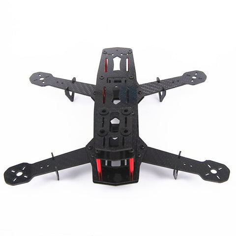 QWinOut Q250 Mini Across Full Carbon Fiber 250mm 250 RC Quadcopter Frame Kit Unassembled for DIY FPV Drone