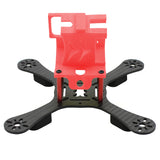 QWinOut Q-ONE180 Carbon Fiber FPV Racing Drone Frame Kit 180mm Wheelbase with 3D Print TPU Camera Mount for GOPRO 5/6/7 Action Camera