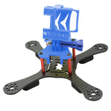 QWinOut ONE180 Carbon Fiber FPV Racing Drone Frame Kit with 3D Print TPU Camera Mount Angle Adjustable for GOPRO 5/6/7 Action Camera